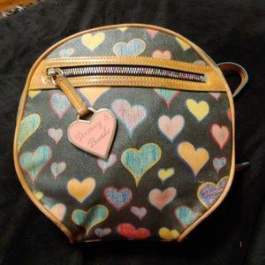 Dooney & Bourke hearts collection backpack